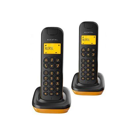 Telèfon Inalàmbric + Supletori ALCATEL C135 DUO