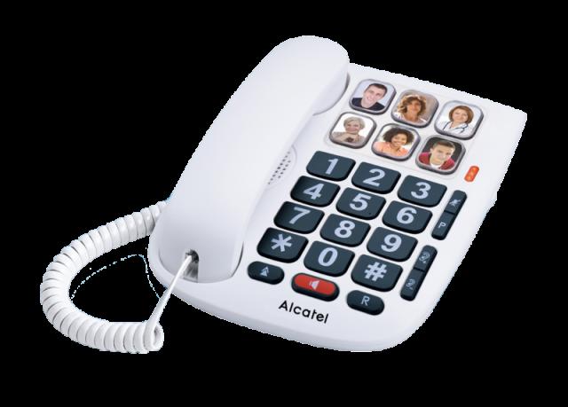 Telèfon Sobretaula ALCATEL Temporis TMax 10 Blanc