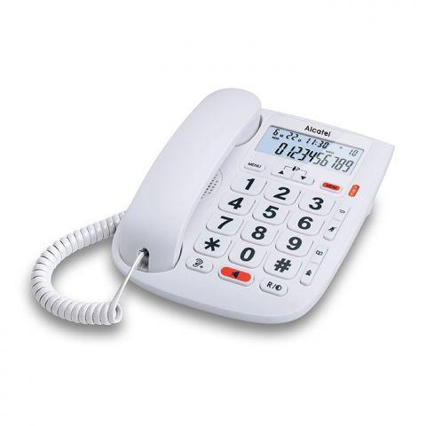 Telèfon Sobretaula ALCATEL TMax 20 Blanc digital