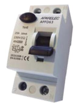 Diferencial 2P 40A 300mA clase AC