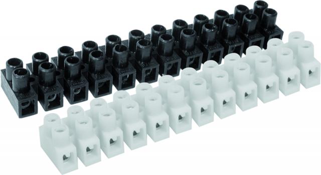 Regleta 16mm connexió nylon  Homologada