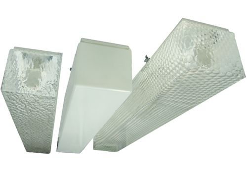 Pantalla Superfície 2x18w Murano/Opal LED