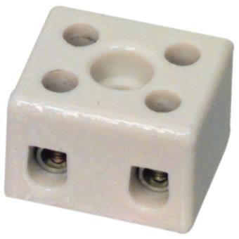 Regleta porcelana bipolar 3mm 5A