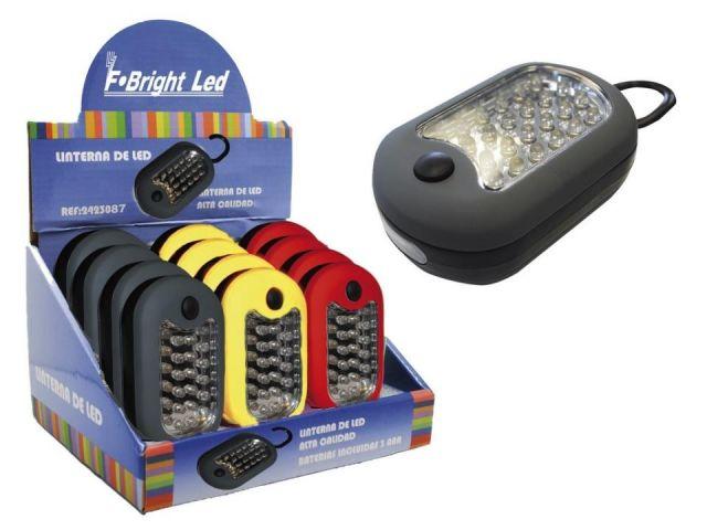 Lot portatil 24 leds magnètica amb ganxo