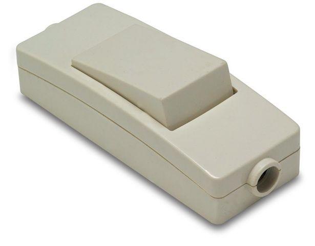 Interruptor passador 10a. Blanc