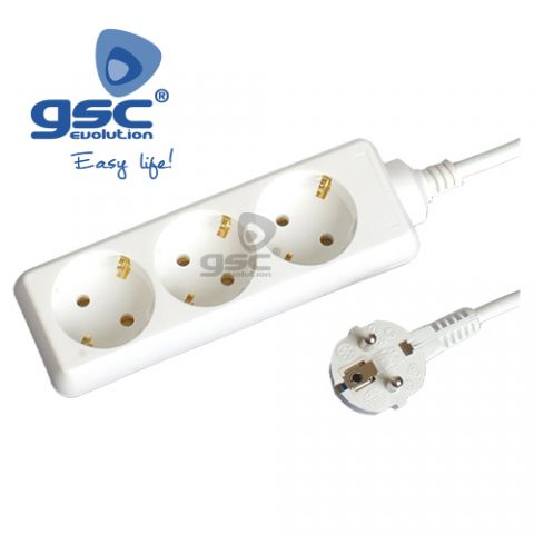 Base 3 shuco + TT + 3M cable 3x1.5mm