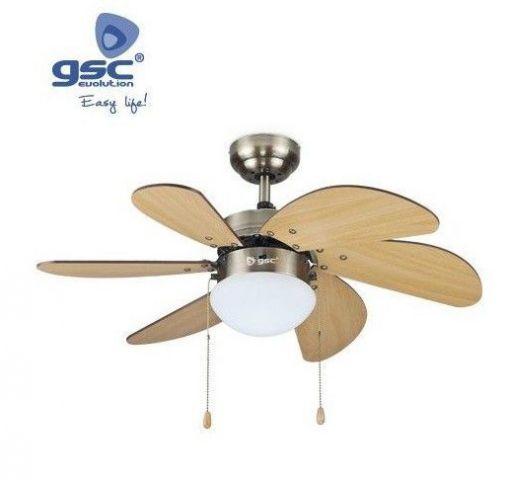 Ventilador Sostre Haya 81cms 5 Pales/Llum