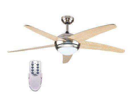 Ventilador Sostre Haya 132cms 5 Pales/Llum+Coman.