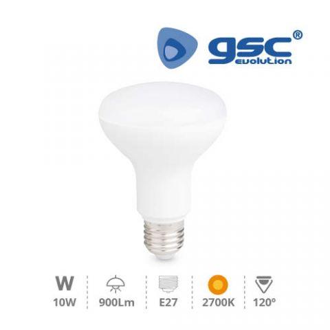 Reflectora R80 LED 10w/220v E-27 3000K CÀLIDA