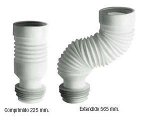 Manguito WC Extensible Reforçat 285/625 Alta Qual