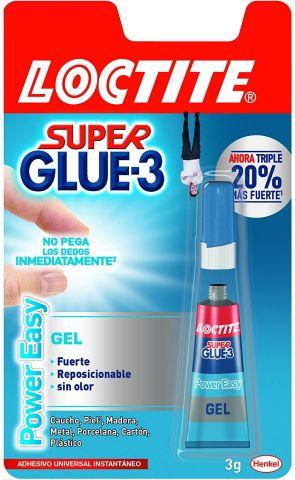 Super Glue-3 3grs. Power Gel
