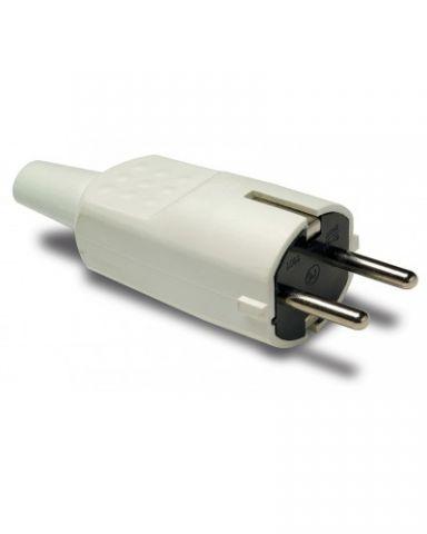 Clavilla shuco PVC acrilica 16A BLANCA