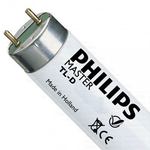 Fluorescent 18w/865 6500k Philips OFERTA CAIXES 25